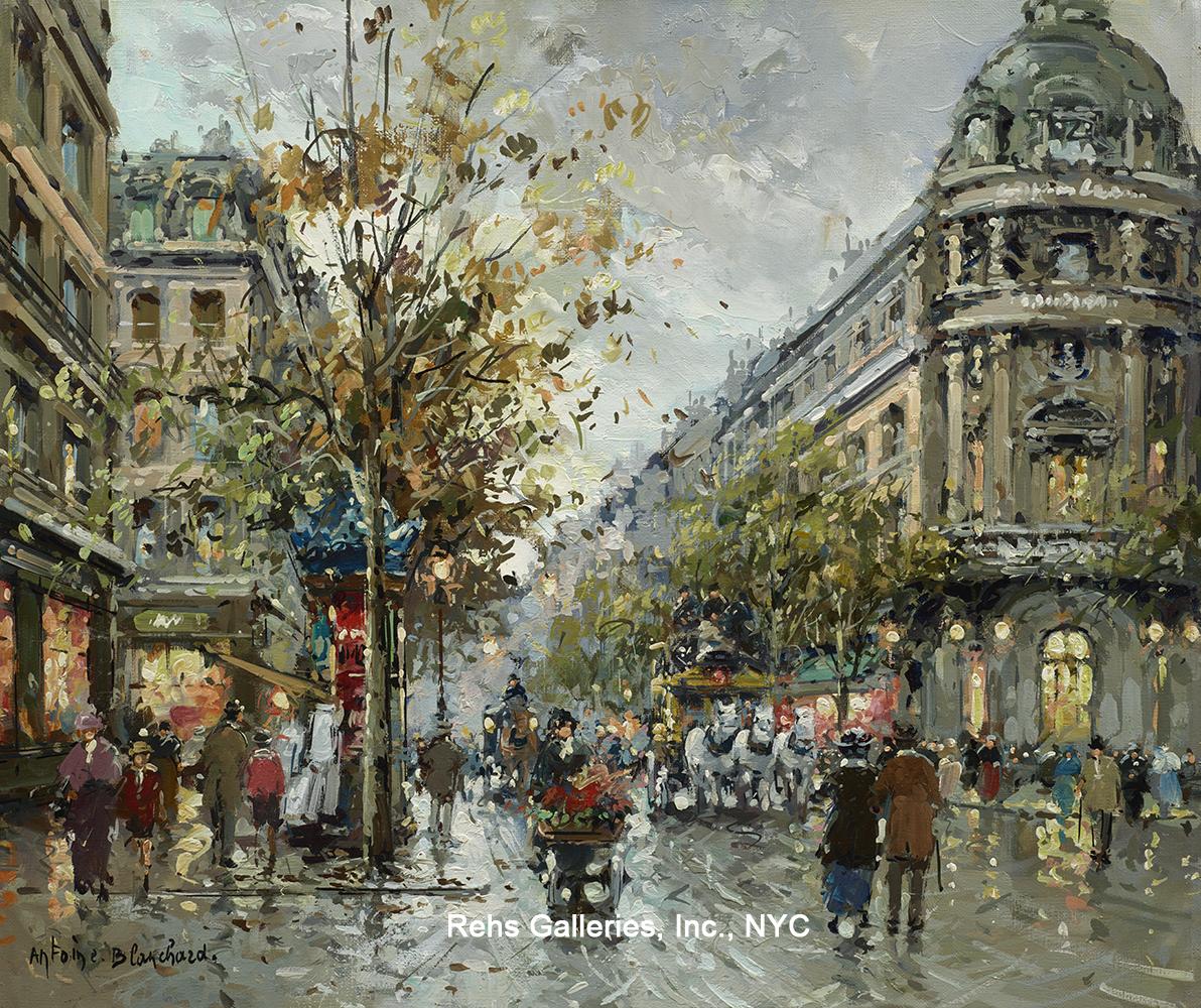 Paris Street SceneParis Street Scene