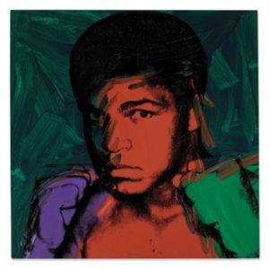 Warhol - Muhammad Ali