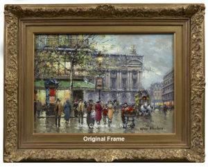 Antoine Blanchard - Original Frame