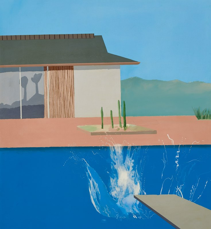 Hockney - The Splash