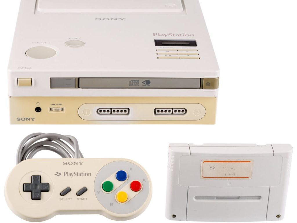 Nintendo-Sony PlayStation