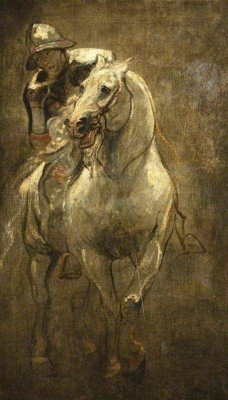 Van Dyck's A Soldier on Horseback