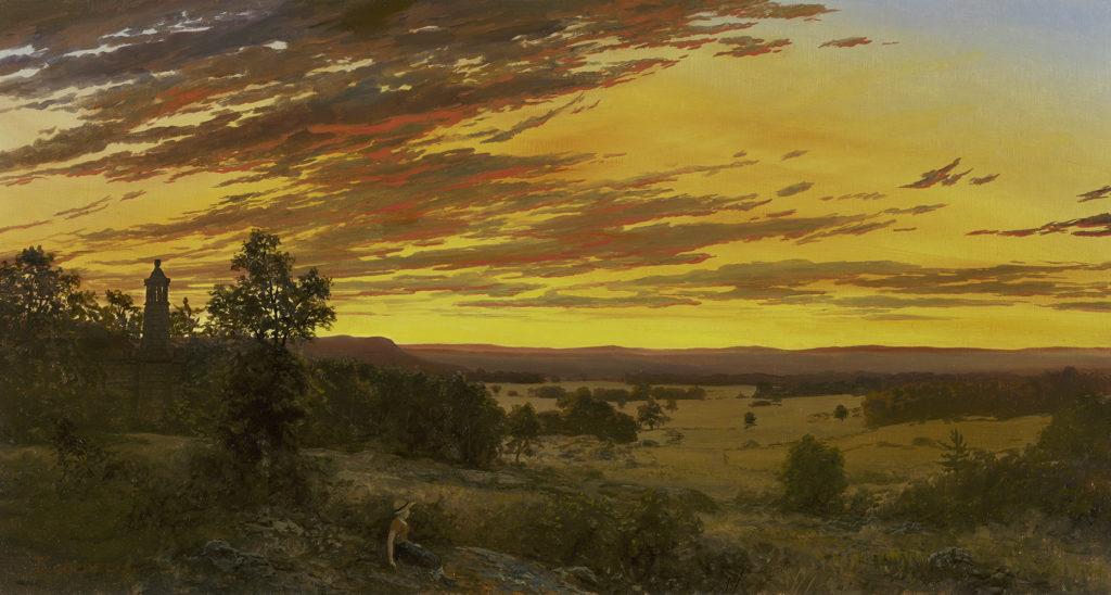 Erik Koeppel - Sunset from Little Round Top, Gettysburg