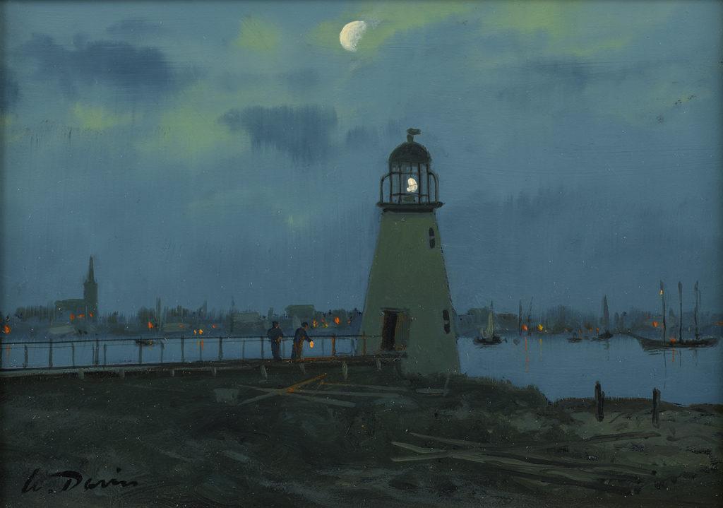 William Davis - Palmer Island Light, New Bedford