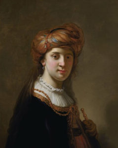 Govert Flinck's Portrait of a Lady in a Turban