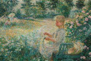 Jenny Montigny's Fille au Jardin