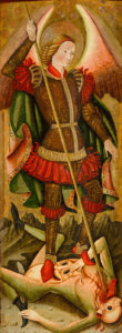 Maestro de los Florida's St. Michael Vanquishing the Devil