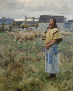 Charles Sprague Pearce - Sainte Genevieve