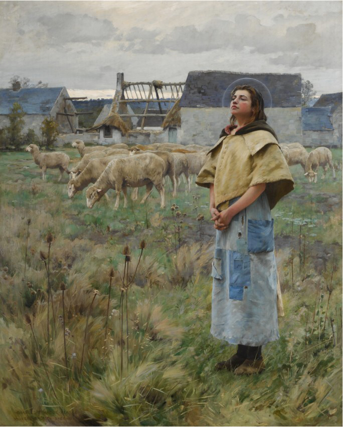 Charles Sprague Pearce - Sainte Genevieve
