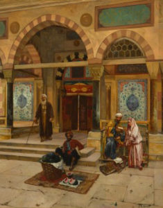 Rudolf Ernst's Outside the Mosque