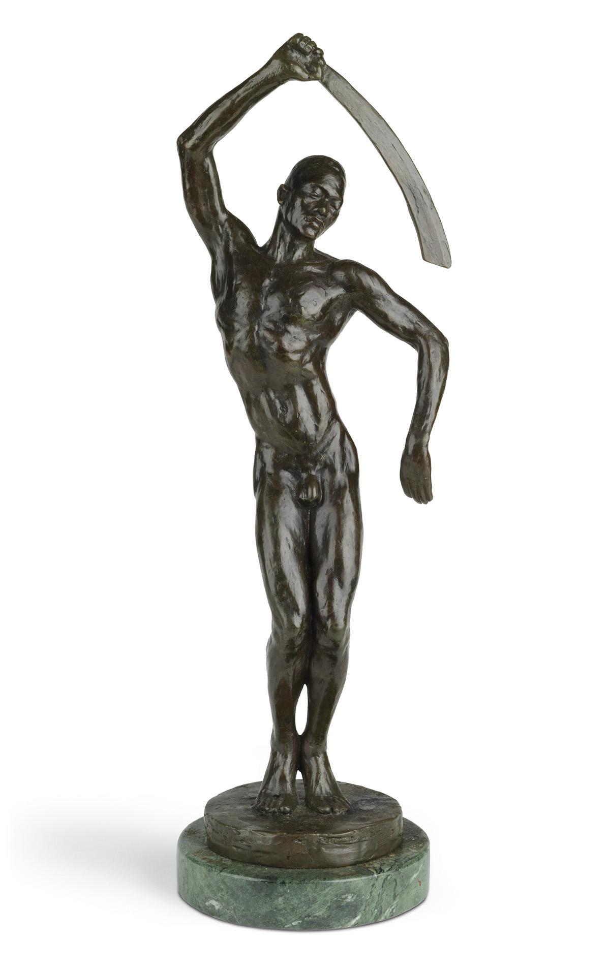 Richmond Barthé sculpture titled Féral Benga