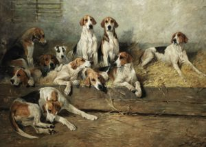 John Emms - The Bitch Pack of the Meath Foxhounds