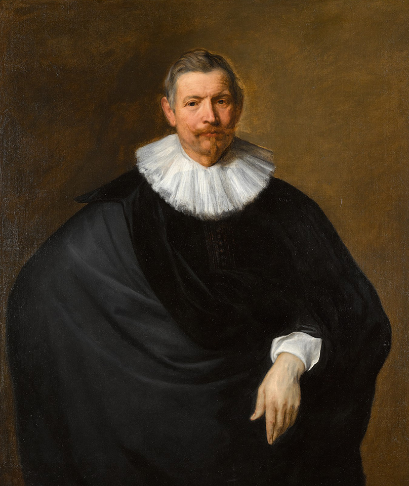 Sir Anthony van Dyck's Portrait of Hubert de Hot