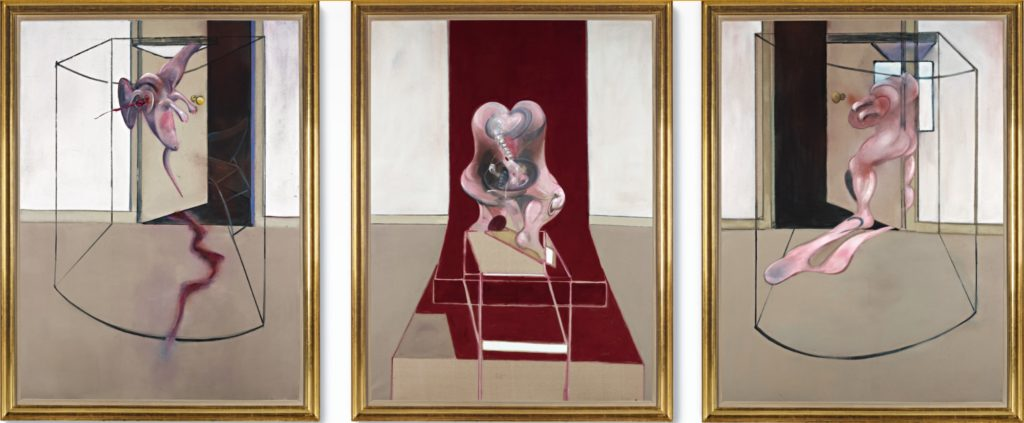 Francis Bacon - Triptych Inspired by the Oresteia of Aeschylus