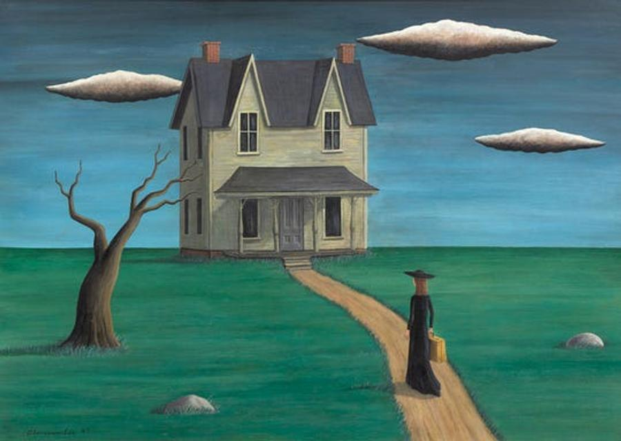 """Coming Home,"" purportedly by Gertrude Abercrombie"
