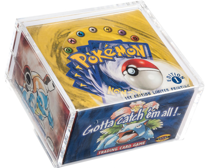 boxed set of Pokemon cards