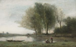 french landscape with boat