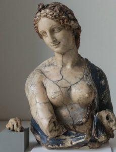 wax sculpture of flora