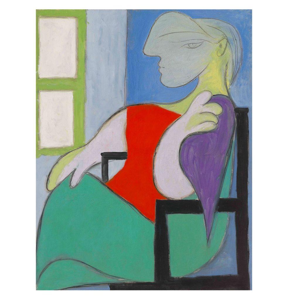 Picasso - Femme Assise Pres d'une Fenetre