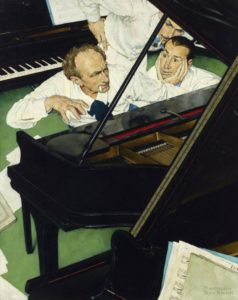 people playing the piano