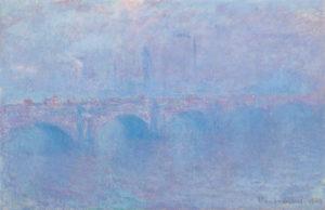 Monet - Waterloo Bridge, Effet de Brouillard