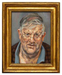 Lucien Freud - David Hockney