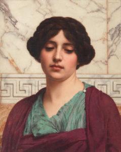 portrati of a Neo-classical woman