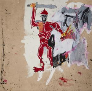 Basquiat - Untitled (Red Warrior)