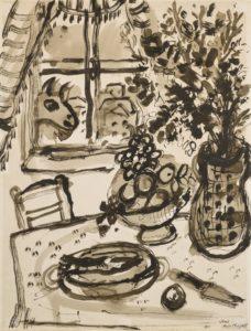 a still life on a table