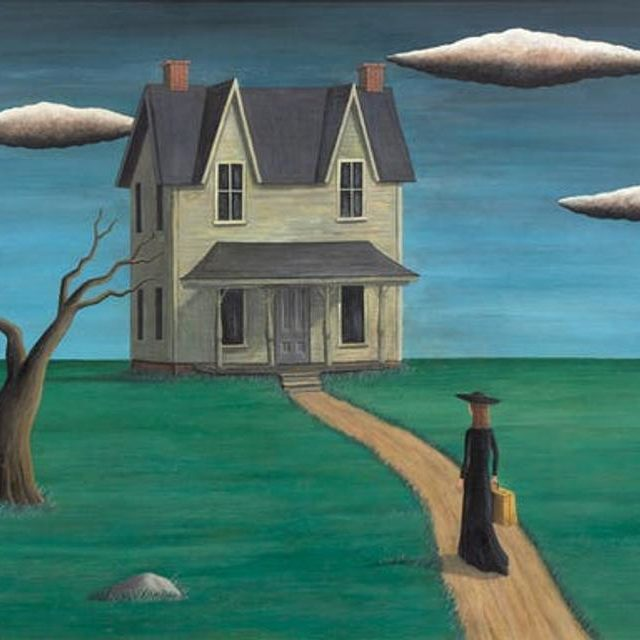 """""""Coming Home,"""" purportedly by Gertrude Abercrombie"""